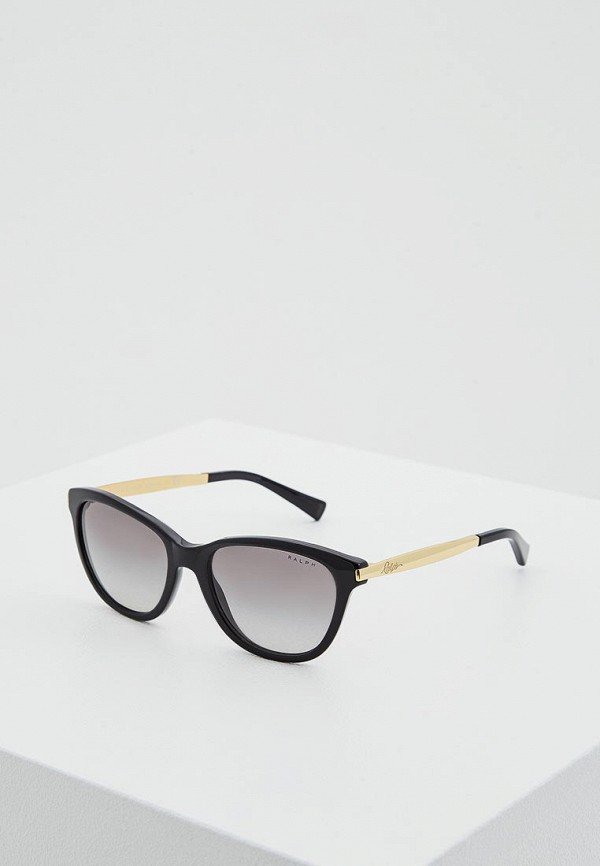 Купить Очки солнцезащитные Ralph Ralph Lauren черного цвета