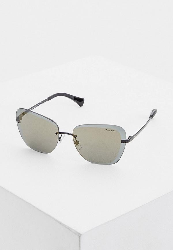 женские авиаторы солнцезащитные очки ralph ralph lauren, черные