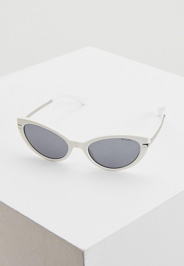 женские солнцезащитные очки ralph ralph lauren, белые