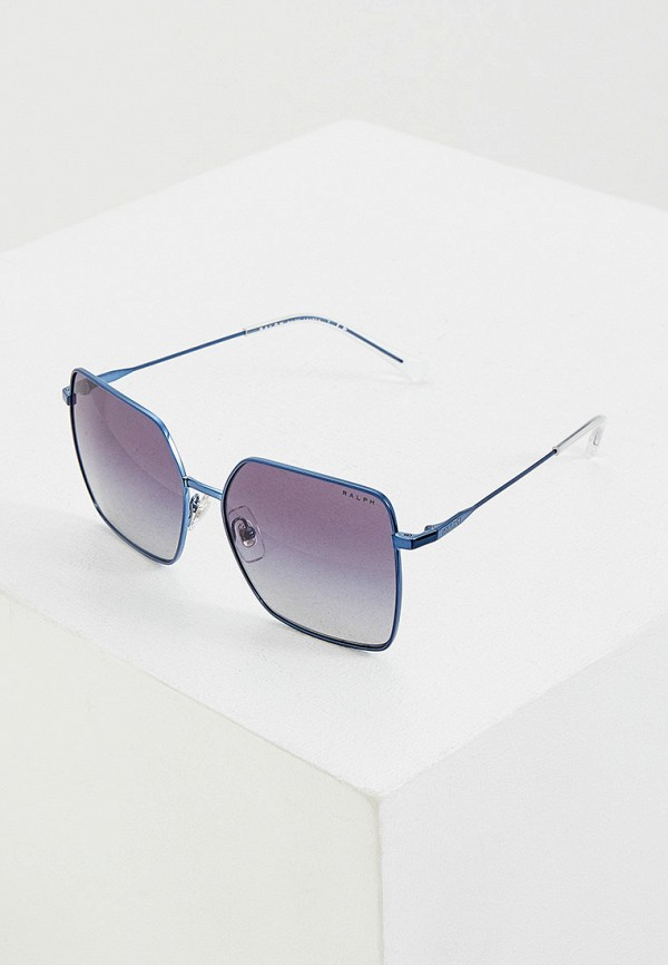 женские солнцезащитные очки ralph ralph lauren, синие