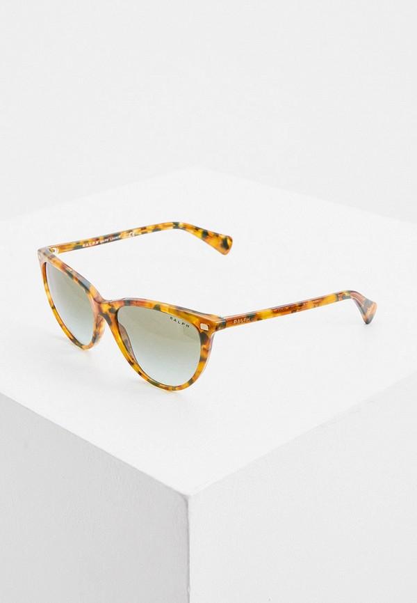 женские солнцезащитные очки кошачьи глаза ralph ralph lauren, оранжевые