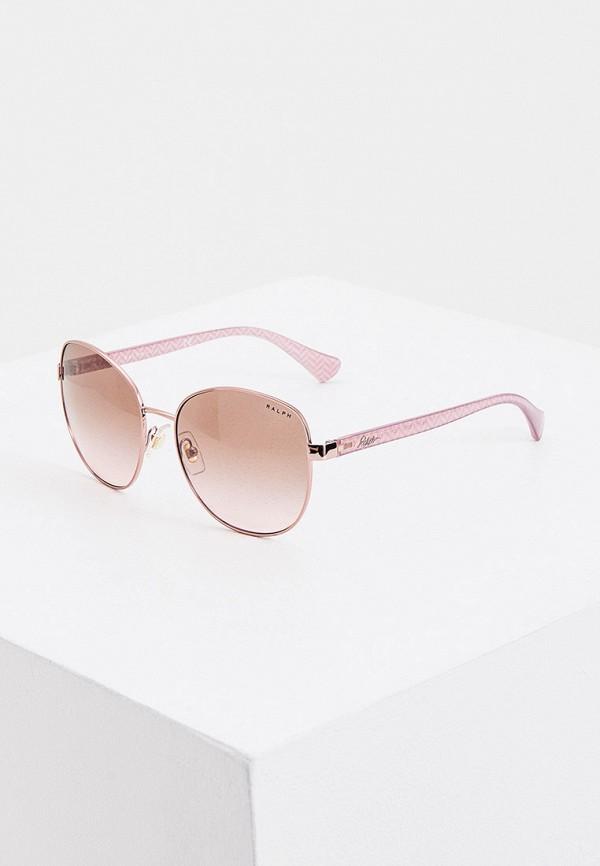 женские солнцезащитные очки ralph ralph lauren, розовые