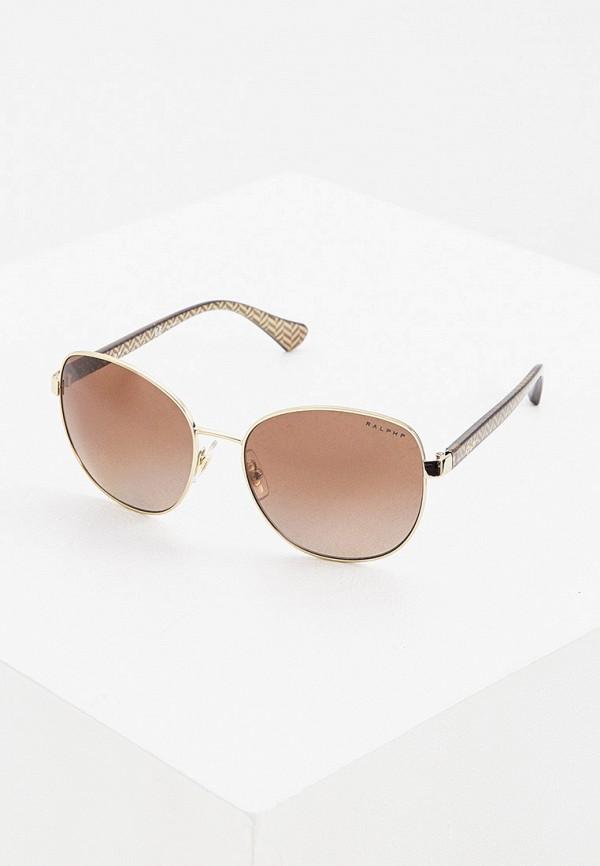 женские солнцезащитные очки ralph ralph lauren, золотые