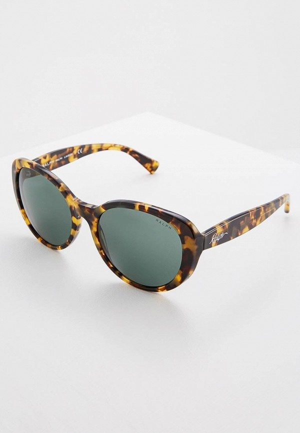мужские солнцезащитные очки ralph ralph lauren, коричневые