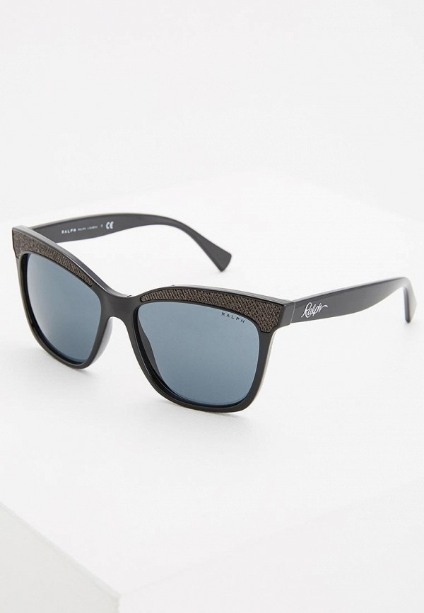 женские солнцезащитные очки ralph ralph lauren, черные