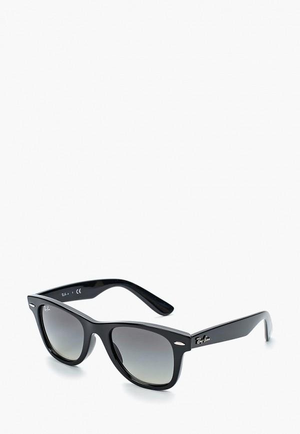 солнцезащитные очки ray ban малыши, черные