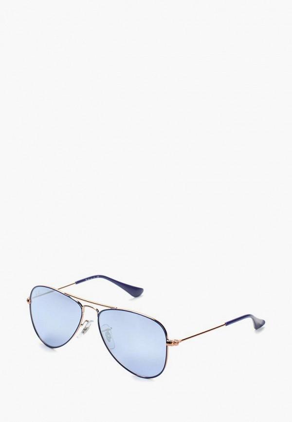 Фото - Очки солнцезащитные Ray-Ban® Ray-Ban® RA014DKBHAN0 megir синий цвет 40