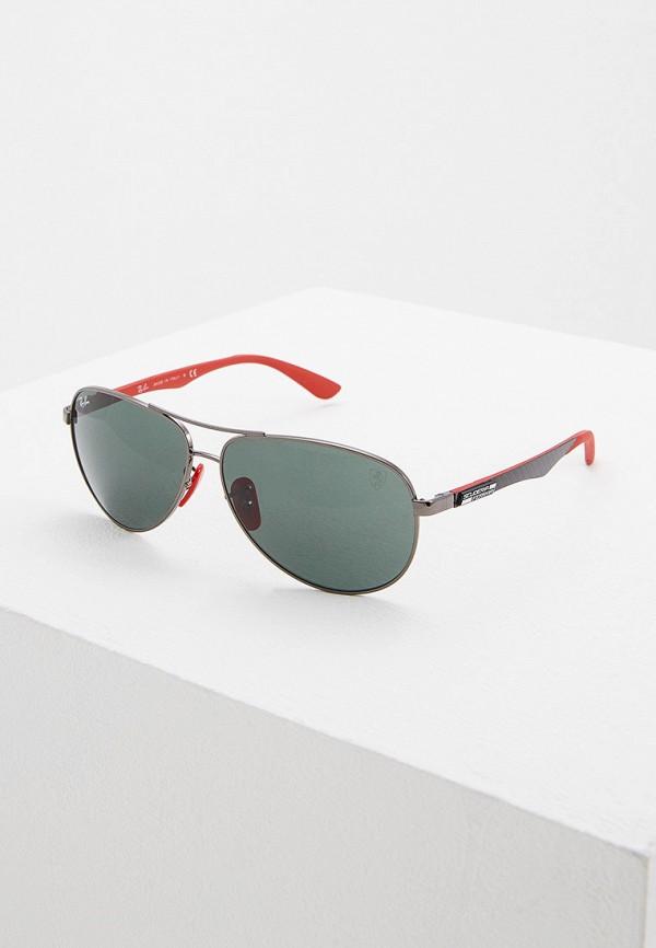 мужские авиаторы солнцезащитные очки ray ban, черные