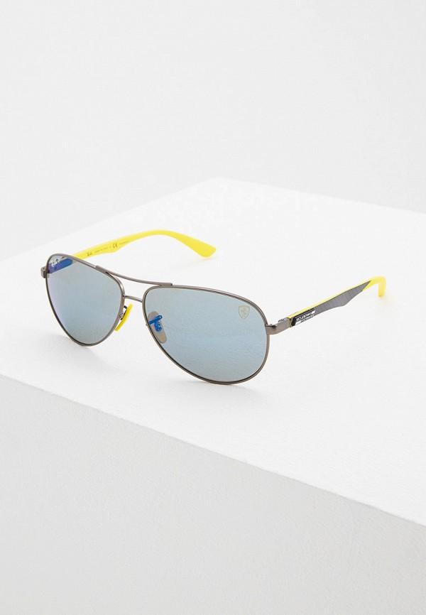 мужские авиаторы солнцезащитные очки ray ban, серые