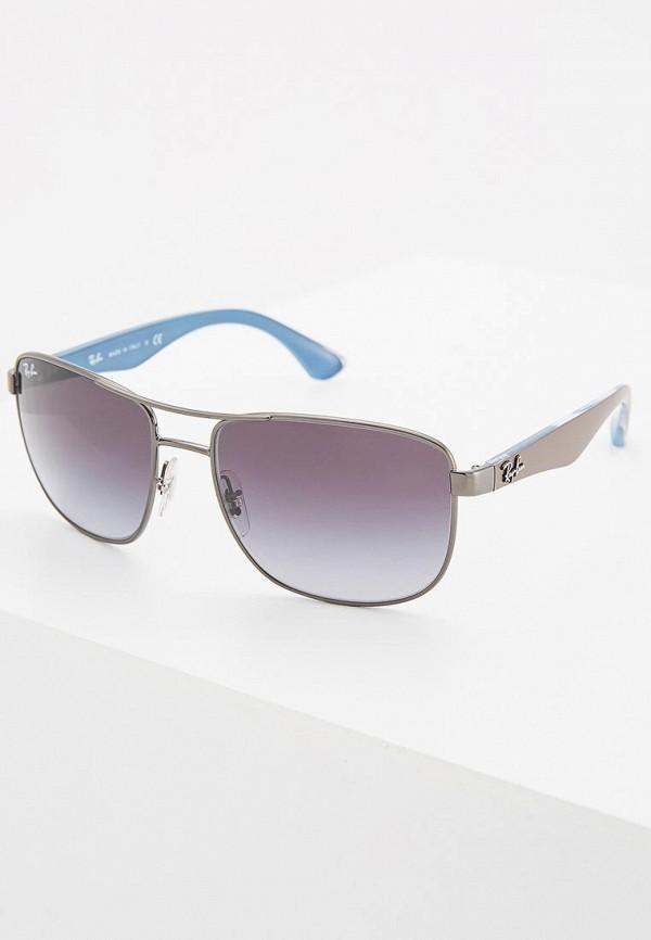 Купить Очки солнцезащитные Ray-Ban®, RB3533 004/8G, ra014dmgeq67, серебряный, Осень-зима 2018/2019