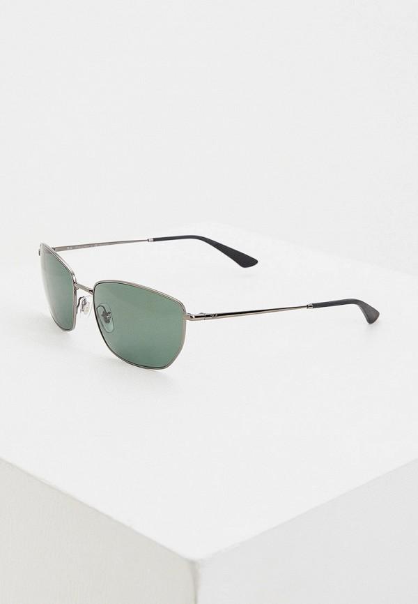 мужские солнцезащитные очки ray ban, зеленые
