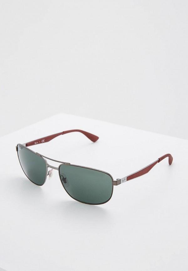 Купить Очки солнцезащитные Ray-Ban®, RB3528 190/71, ra014dmhxf67, серебряный, Осень-зима 2018/2019