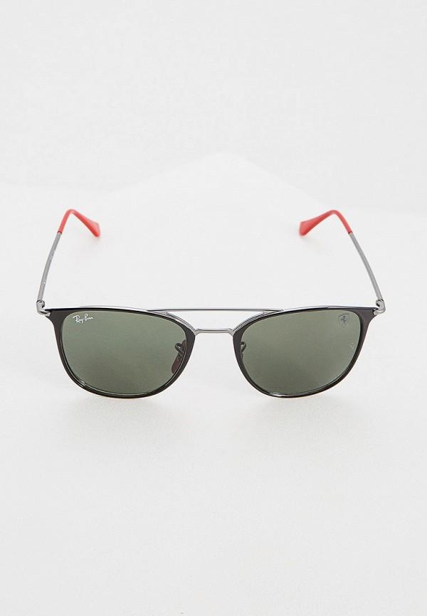 Фото 2 - Очки солнцезащитные Ray-Ban® черного цвета