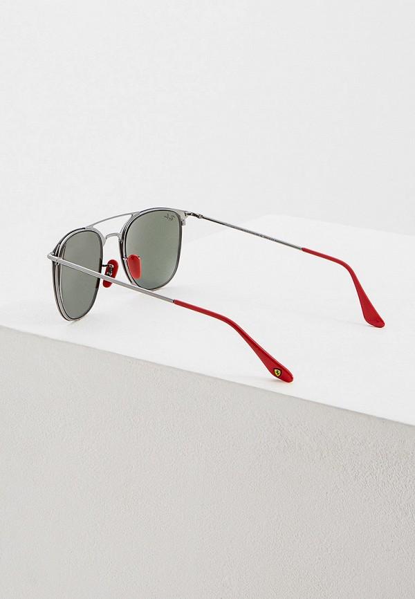Фото 3 - Очки солнцезащитные Ray-Ban® черного цвета