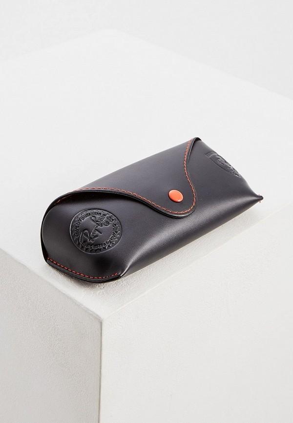 Фото 5 - Очки солнцезащитные Ray-Ban® черного цвета