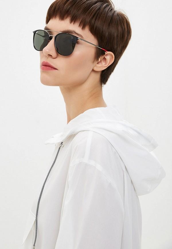 Фото 6 - Очки солнцезащитные Ray-Ban® черного цвета