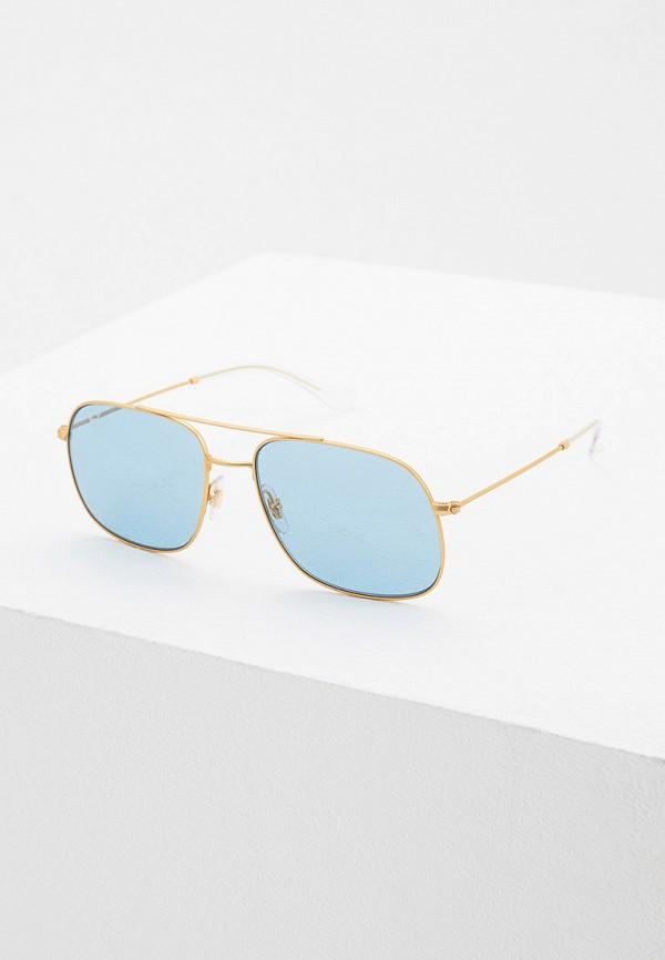 Фото - Очки солнцезащитные Ray-Ban® золотого цвета