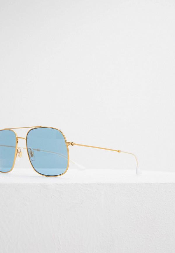 Фото 4 - Очки солнцезащитные Ray-Ban® золотого цвета