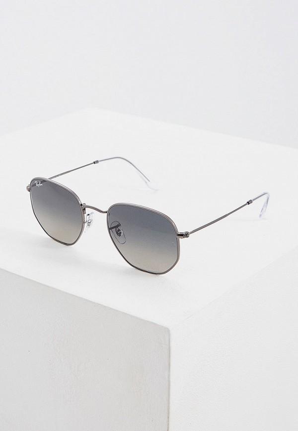 Фото - Очки солнцезащитные Ray-Ban® серого цвета