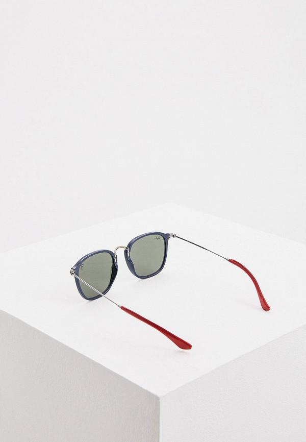 Фото 3 - Очки солнцезащитные Ray-Ban® серебрянного цвета