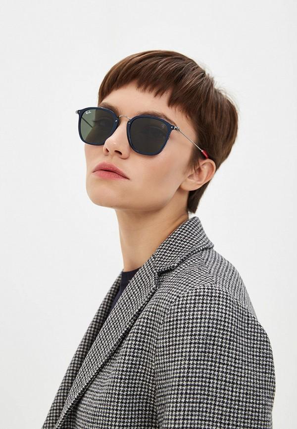 Фото 6 - Очки солнцезащитные Ray-Ban® серебрянного цвета