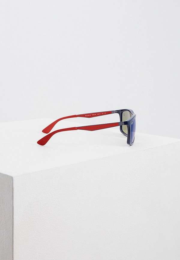 Фото 3 - Очки солнцезащитные Ray-Ban® синего цвета