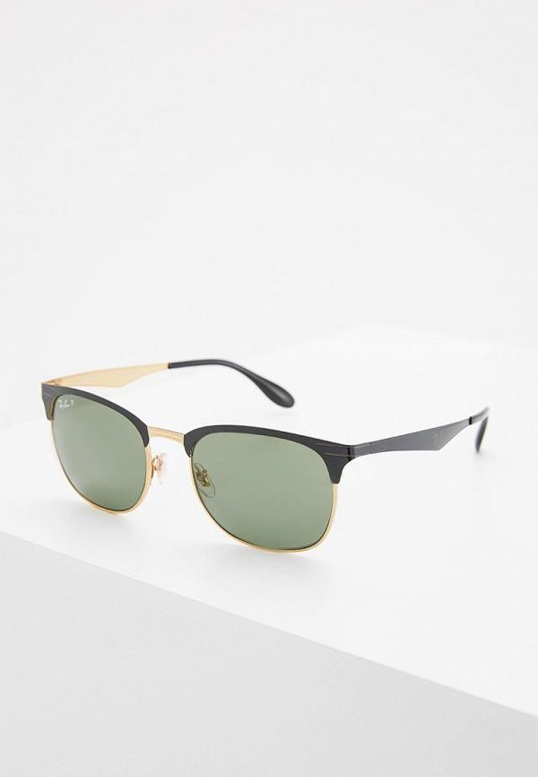 женские квадратные солнцезащитные очки ray ban, разноцветные