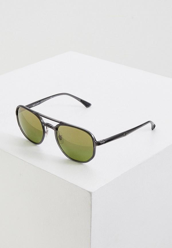 женские солнцезащитные очки ray ban, серые