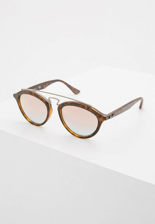 Купить Очки солнцезащитные Ray-Ban® коричневого цвета