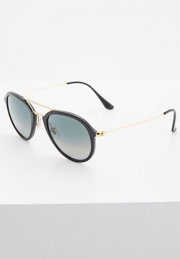 женские авиаторы солнцезащитные очки ray ban, черные