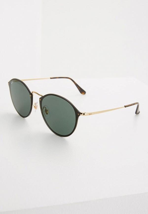 женские солнцезащитные очки ray ban, черные