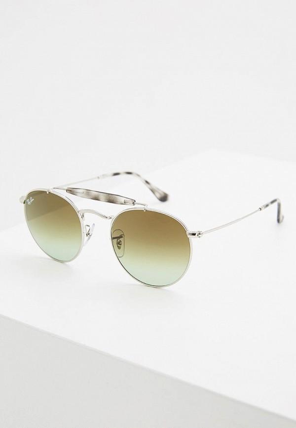 Купить Очки солнцезащитные Ray-Ban®, 0RB3747 003/A6, ra014duzcf18, серебряный, Осень-зима 2018/2019