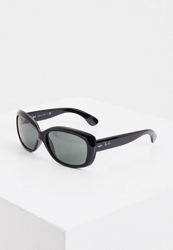 женские солнцезащитные очки ray ban, зеленые
