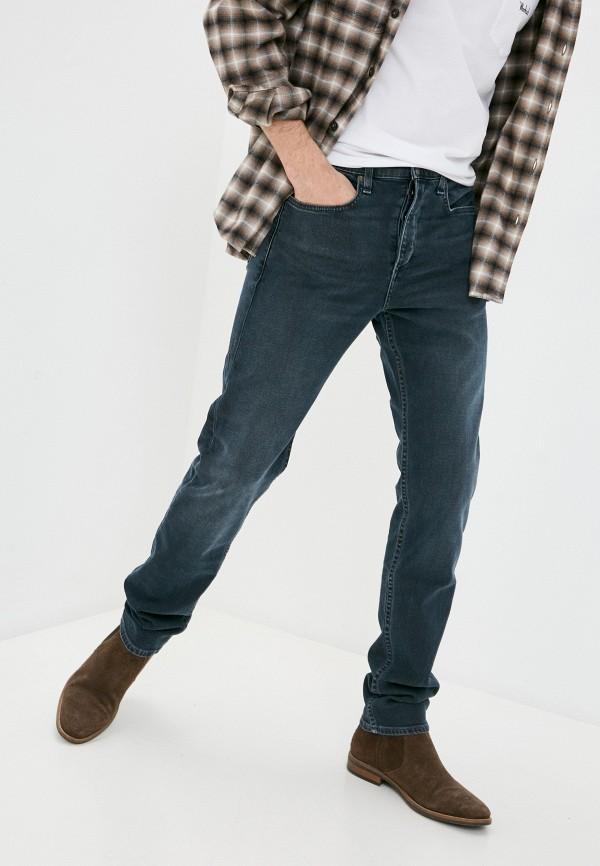 мужские зауженные джинсы rag & bone, синие