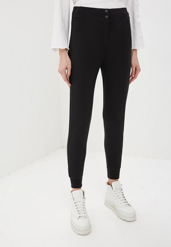 женские спортивные спортивные брюки rag & bone, черные
