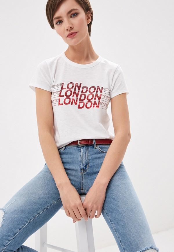 женская футболка rag & bone, белая