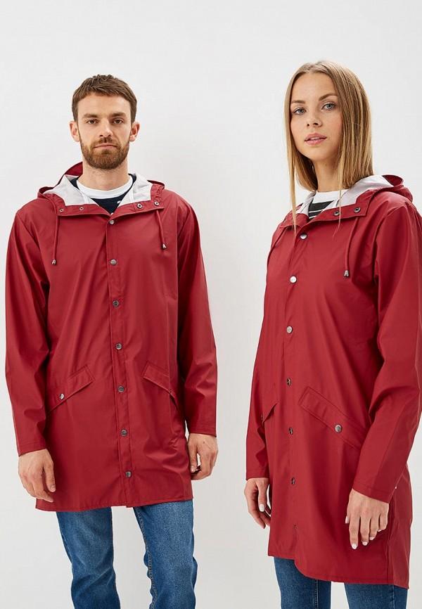 Купить Плащ Rains, ra020eucmug6, красный, Осень-зима 2018/2019