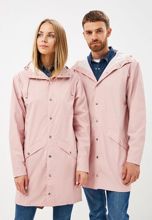 Купить Плащ Rains, ra020eucmug7, розовый, Осень-зима 2018/2019