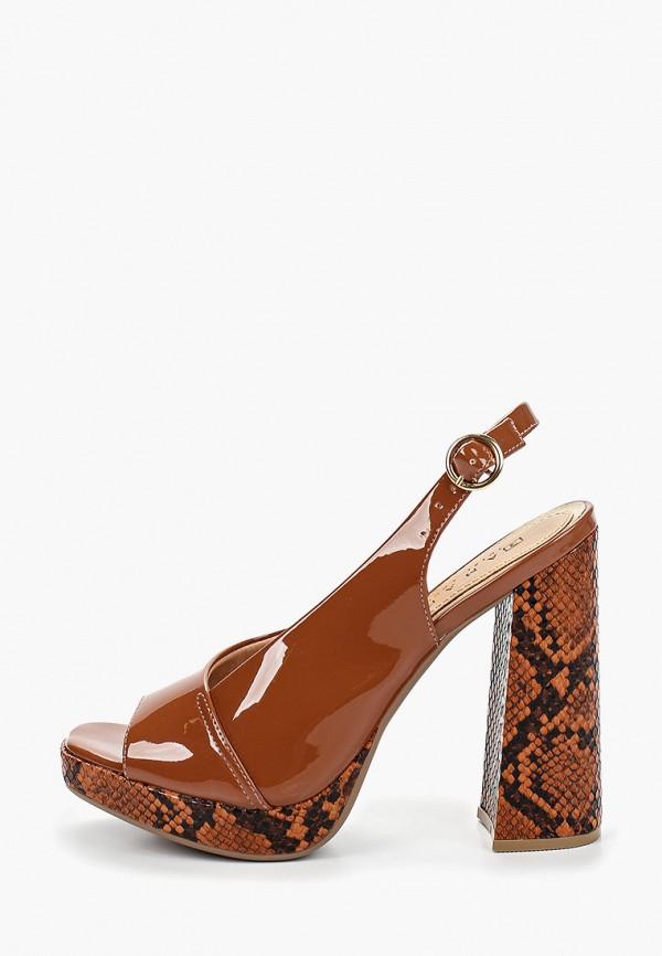 женские босоножки ramarim, коричневые