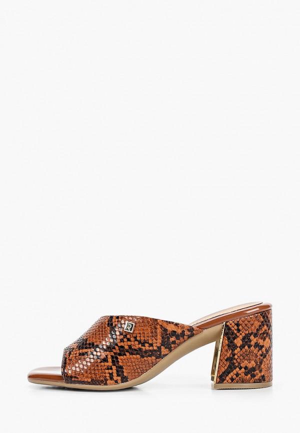 женское сабо ramarim, коричневое