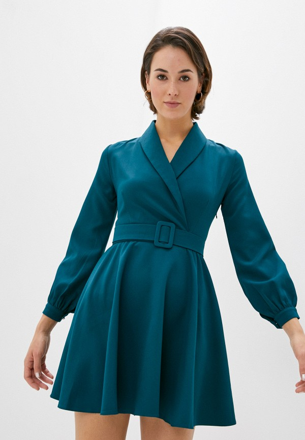 женское платье rainrain, зеленое
