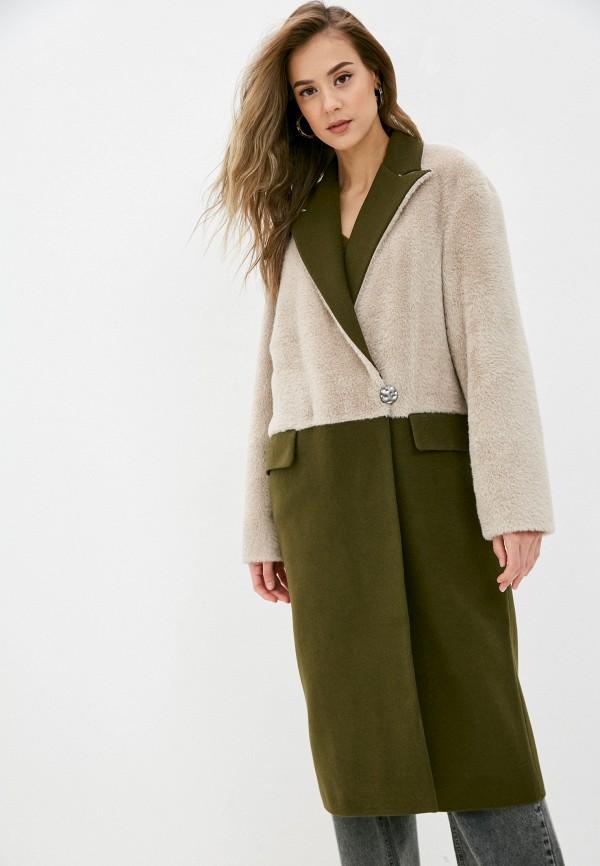 женское пальто rainrain, хаки