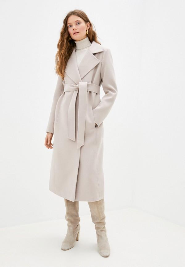 женское пальто rainrain, бежевое