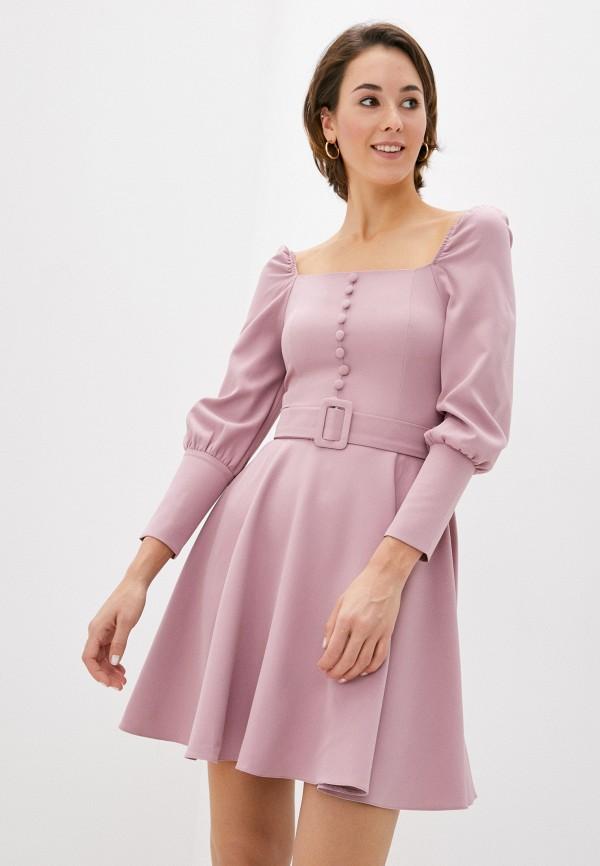 женское платье rainrain, розовое