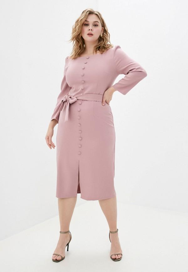 женское повседневные платье rainrain, розовое