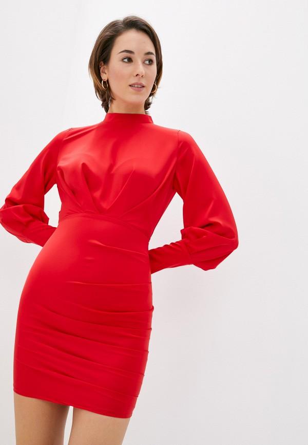 женское повседневные платье rainrain, красное