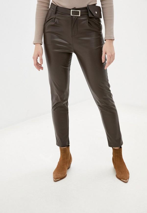 женские брюки rainrain, коричневые
