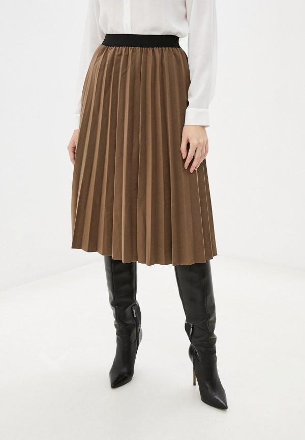 женская юбка rainrain, коричневая
