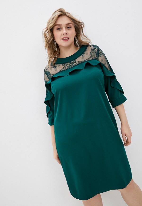 женское повседневные платье rainrain, зеленое