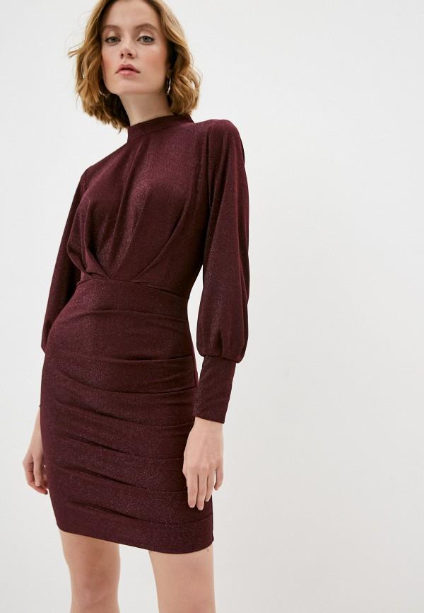 женское вечерние платье rainrain, бордовое